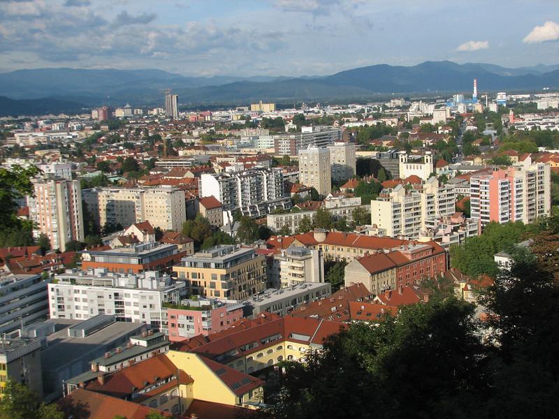 from Ljubljana castle