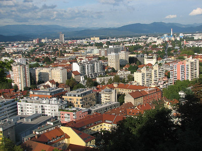 from Ljubljana castle