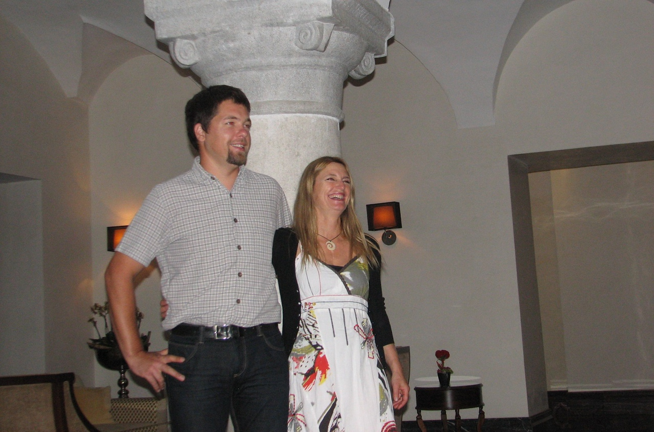 Tiziana & Matjia, our fearless leaders