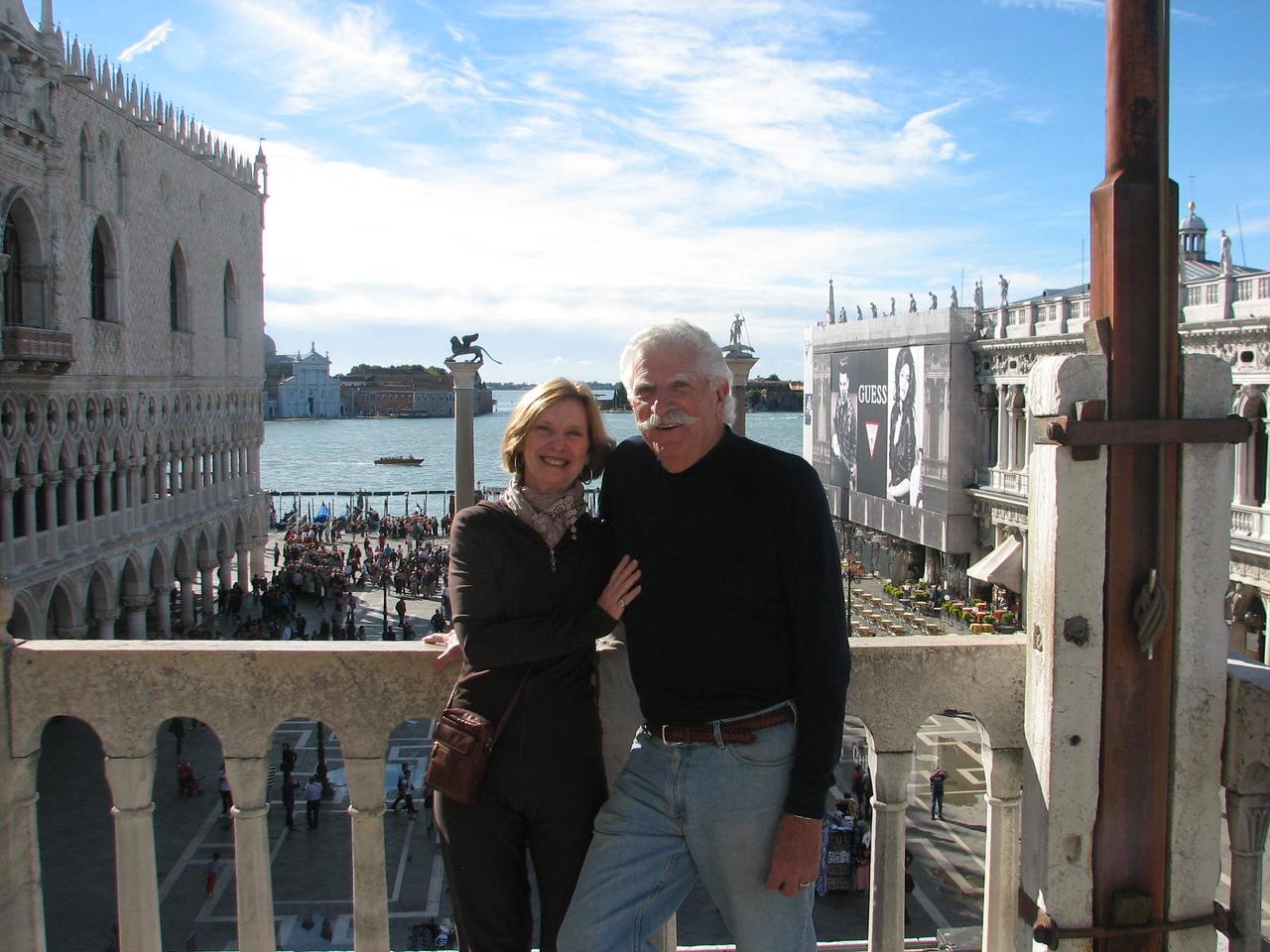 Sandy & Irwin at Basilica San Marco