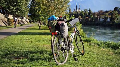 Villach bike path
