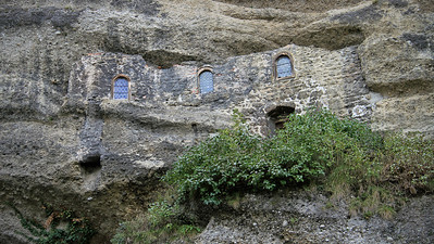 building in a cliff, Salzburg
