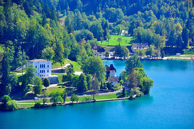Lake Bled shoreline