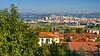 The skyline of the Adriatic port city of Koper, Slovenia, Europe.