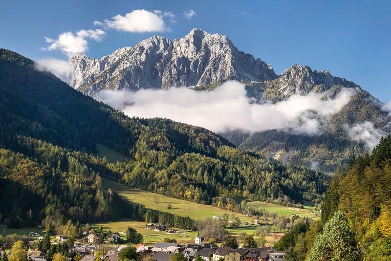 Kranjska Gora Mountain View, Slovenia