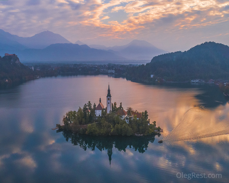 Bled from the top
