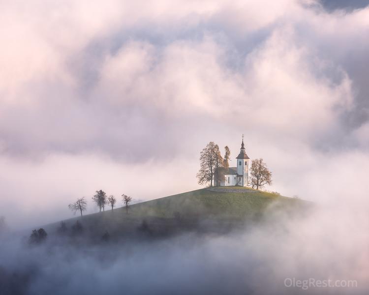 Mist in Slovenia