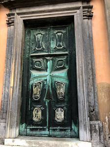 Fabulous door in Ljubljana