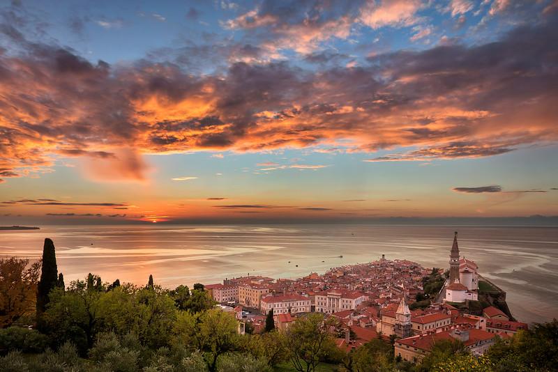 Piran Sunset