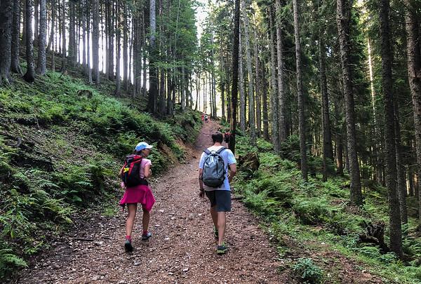 Hiking near Ljubljana