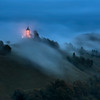 St. Primoz Church Dusk Fog