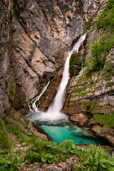 Slovenian Waterfall