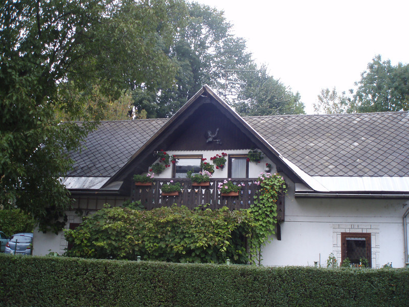 A Bavarian style house in Bled.