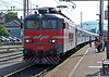 SZ 342-027 rolls into Pragersko on 23 September with a combined train for Maribor and Hodos