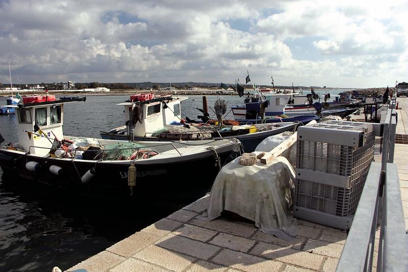 Pesca tradizionale delle secche di Ugento | Secche di Ugento Traditional Fishery
