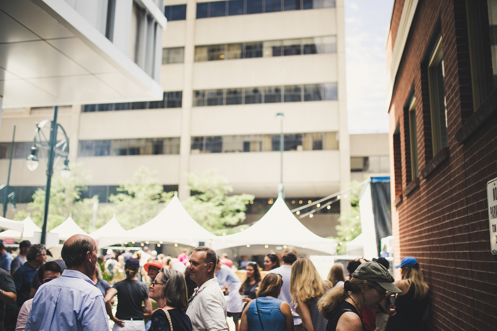 Burgers, Brews and Bluegrass Block Party