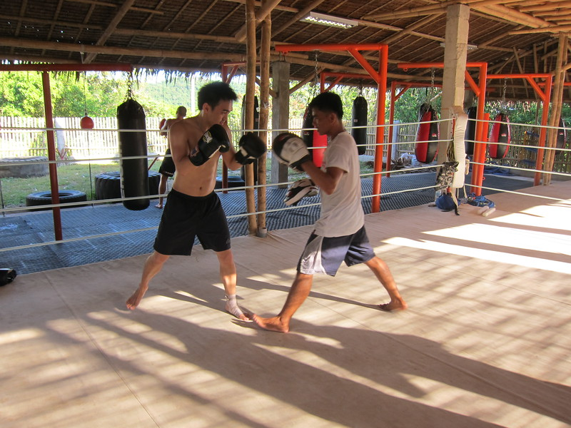 Boxing in Boracay