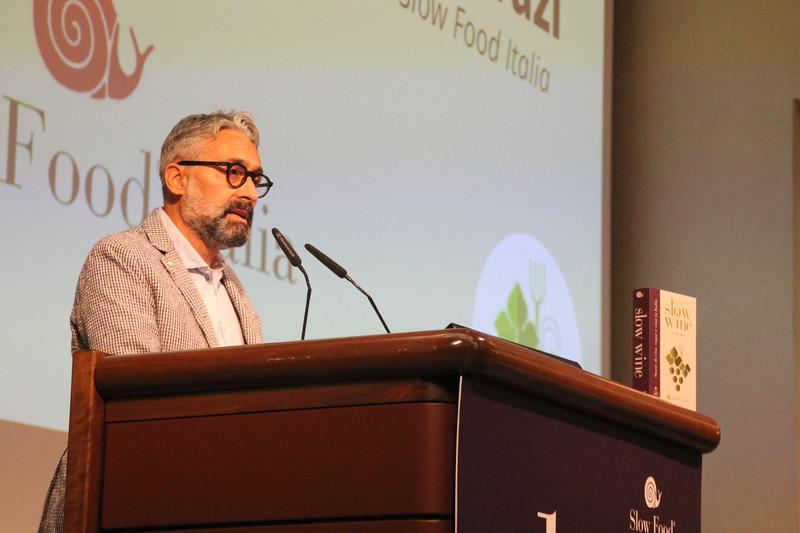 Federico Varazi, Vicepresidente Slow Food Italia