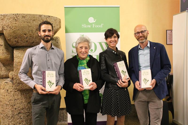 I premiati: Federico Stroppolatini, Elisabetta Fagiuoli, Roberta e Alessandro Ceretto
