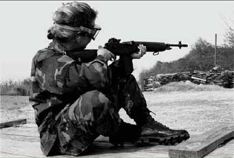 The M14 7.62 mm rifle is a magazine-fed, gas operated shoulder weapon, designed primarily for semi-automatic fire. It was the standard service rifle until it was replaced in the late 1960s by the 5.56mm M16A1 rifle.