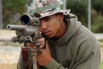 Introduced in 1988 as the Army's designated sniper weapon system, the M24 SWS the first bolt action rifle to see dedicated service with the US Army since the .30-06 caliber Springfield Model 1903.