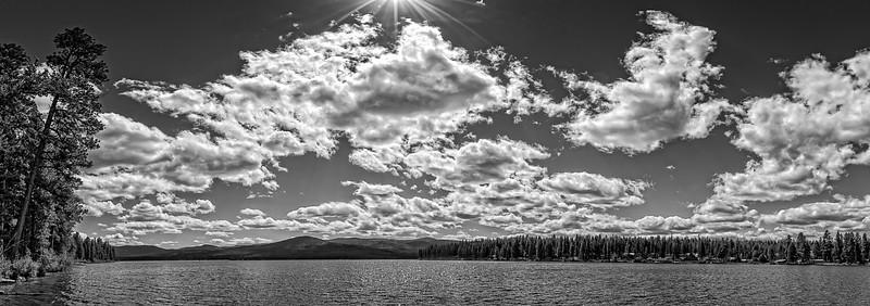 Big Sky Lake B&W