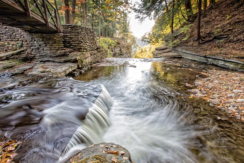 Letchworth Mini Falls Bridge