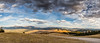 Montana Mountain Cloudy Sky