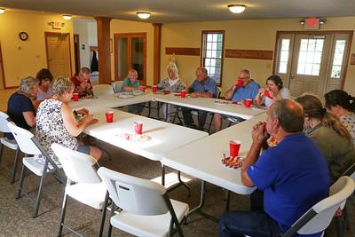 2018 Brown County Comunity Church  Stock Photos
