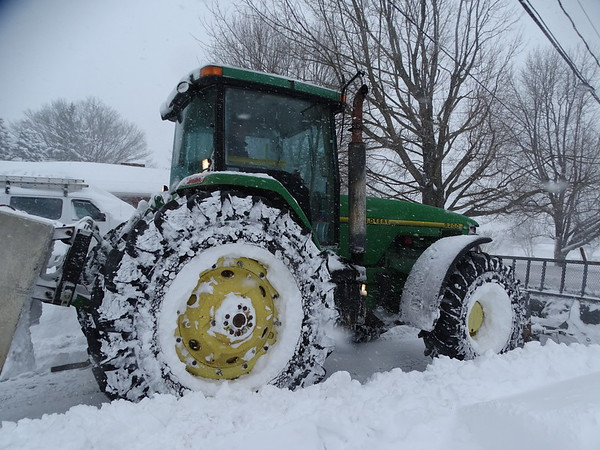 Small Town Snow Plow
