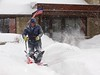 Wind-blown Snow Blower