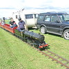 10.25 inch railway at Gloucesterhire Vintage and Country Extravaganza