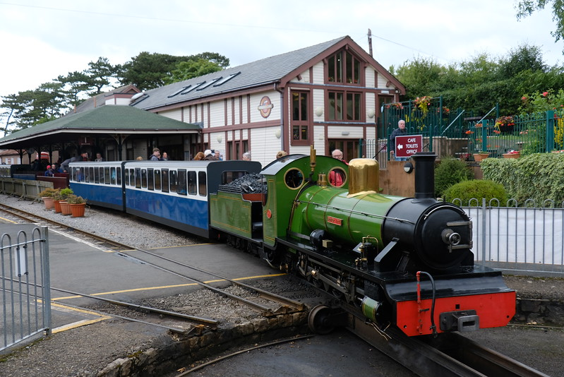 River Irt  on the Ravenglass and Eskdale Railway