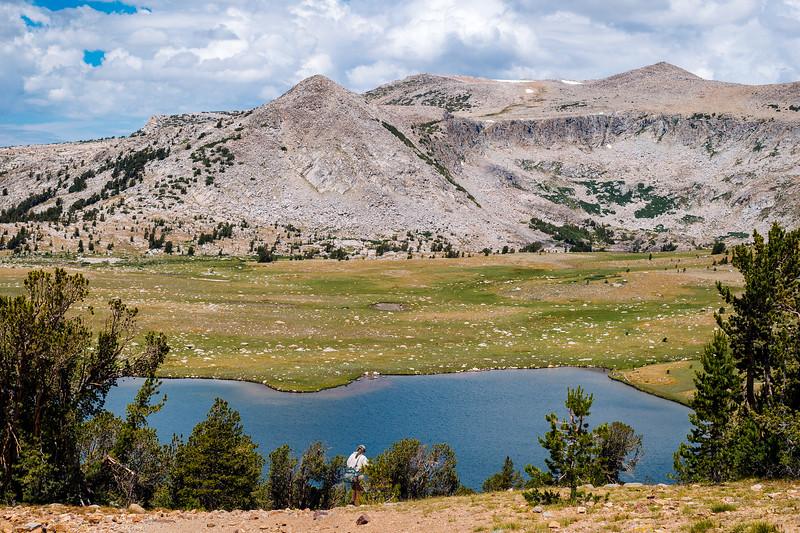 Middle Gaylor Lake, Yosemite