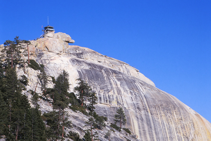 The Needles fire lookout -- open to the public -- in the Sequoia National Forest. Neat place.