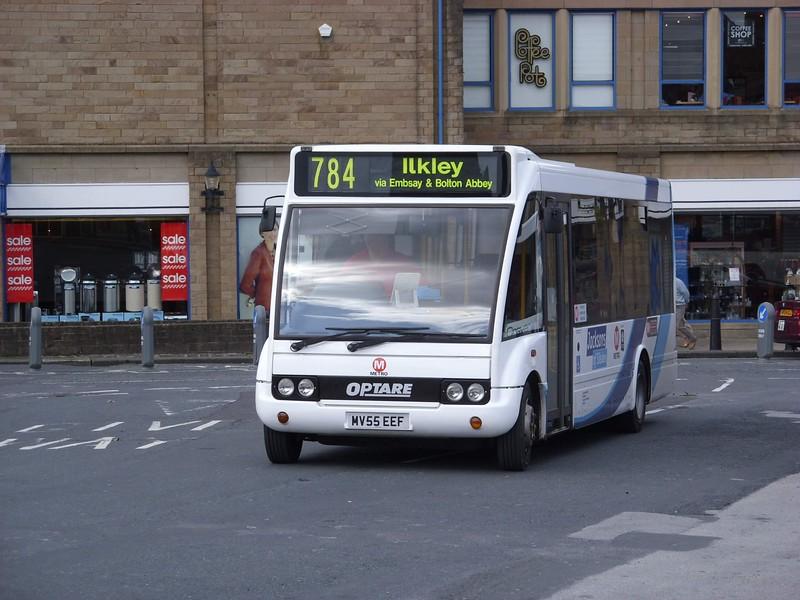 MV55EEF - Skipton (bus station)