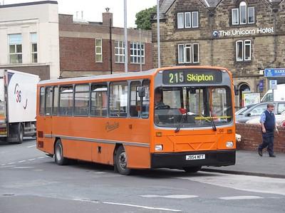 J954MFT - Skipton (bus station)