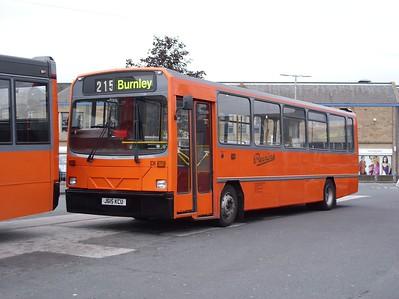 J615KCU - Skipton (bus station)