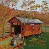 "©Susie Morrell ""Covered Bridge""<br /> Private Collection"
