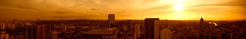 São Paulo - Tomada Av Faria Lima para a Marginal do Pinheiros