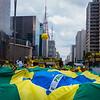 Bandeira na Paulista
