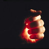Mão com luz 1-alta