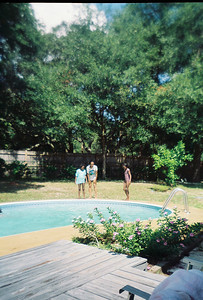 CD Pool Party at Jalon's house. Possibly June 1993.