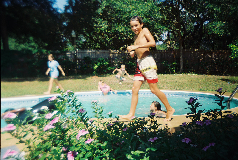 BR Pool Party at Jalon's house. Possibly June 1993.