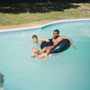 CE Pool Party at Jalon's house. Possibly June 1993.