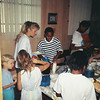BL Pool Party at Jalon's house. Possibly June 1993.