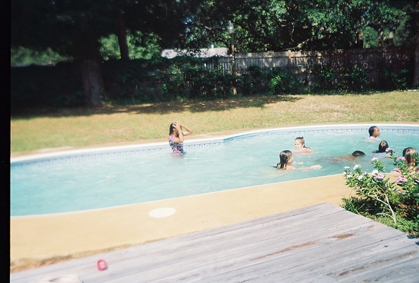 BU Pool Party at Jalon's house. Possibly June 1993.