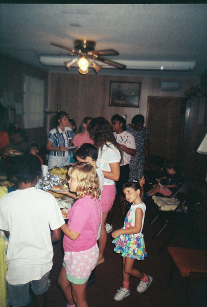 BK Pool Party at Jalon's house. Possibly June 1993.