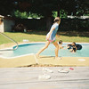 CC Pool Party at Jalon's house. Possibly June 1993.