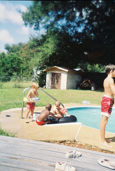 BV Pool Party at Jalon's house. Possibly June 1993.